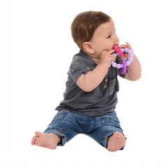 Chewbeads Go Central Park Teether Heart - Shikokukentei Consignment Boutique