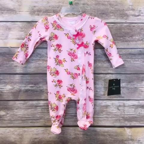 Laura Ashley Girls Sleeper Baby: 00-06m
