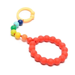 Chewbeads Go Gramercy Stroller Toy Rainbow - Childish Things Consignment Boutique