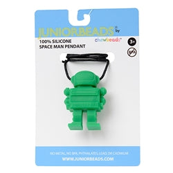 Chewbeads Juniorbeads Spaceman Pendant Green - Shikokukentei Consignment Boutique