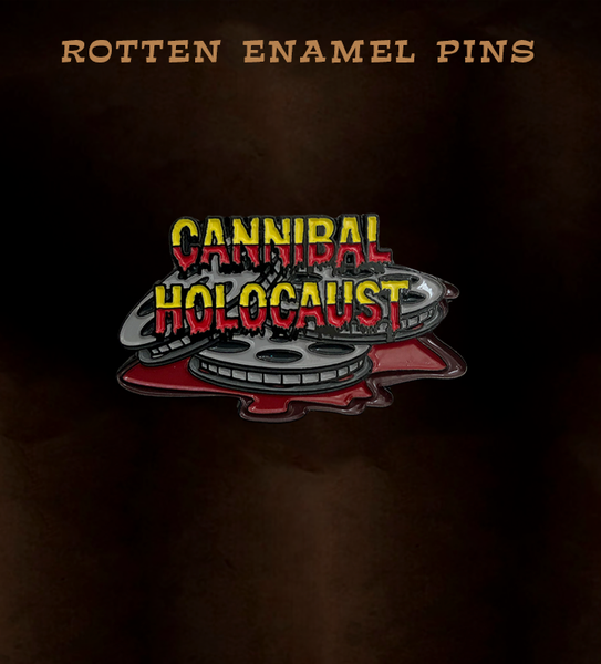Cannibal Holocaust FIlm Reel Pin