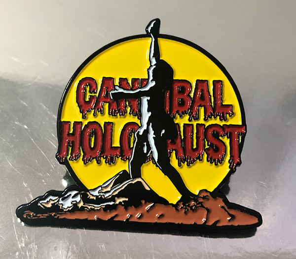 Cannibal Holocaust Design 1 Pin
