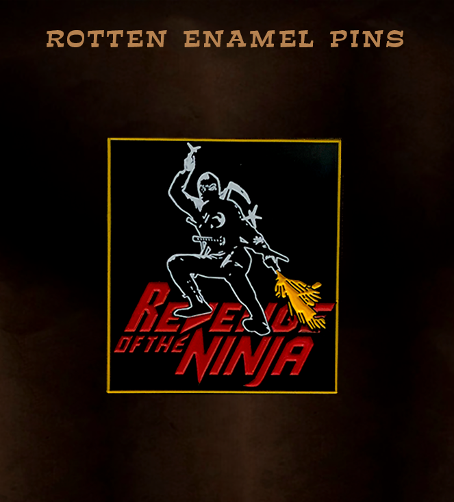 Revenge Of The Ninja Pin
