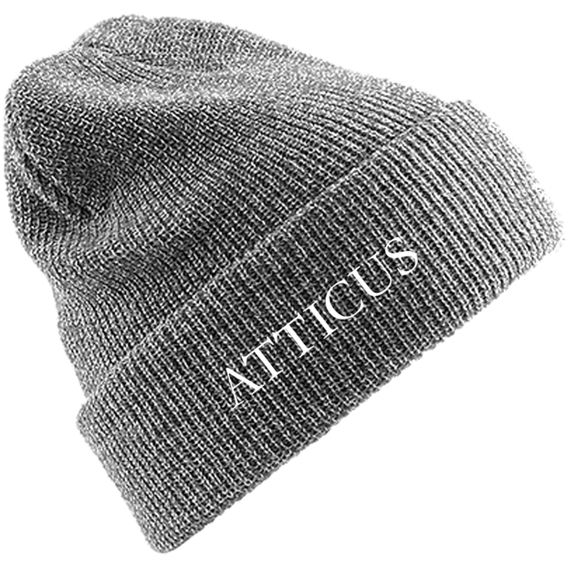 ATTICUS Garamond Beanie (Heather Grey)