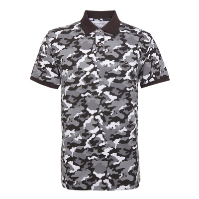 Camo Polo Shirt LTD Edition (Grey)