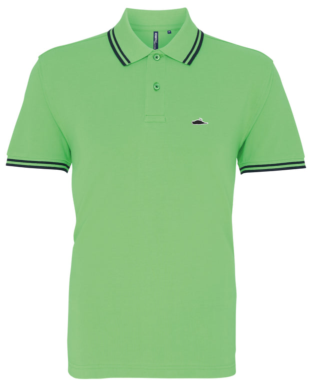 ATTICUS LTD Edition Tipped Polo Shirt (Lime)