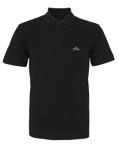 ATTICUS LTD Edition Solid Polo Shirt (Black)