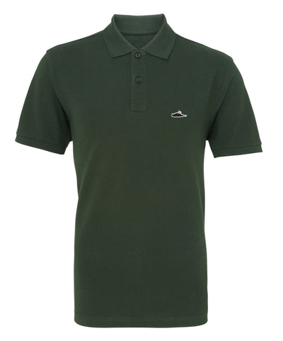 ATTICUS LTD Edition Solid Polo Shirt (Bottle Green)