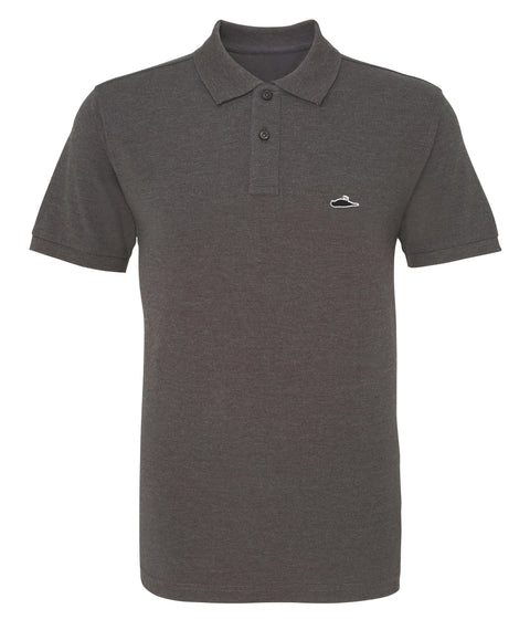ATTICUS LTD Edition Solid Polo Shirt (Charcoal)