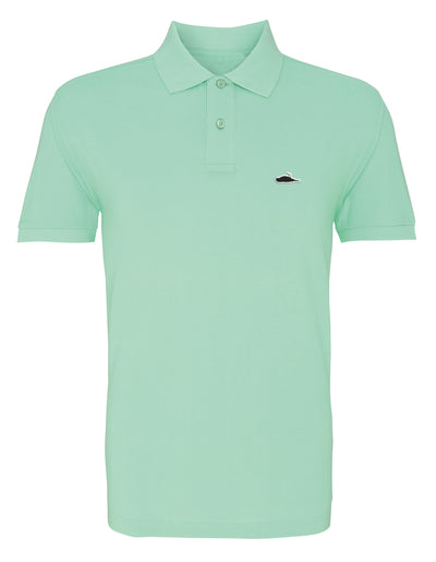 ATTICUS LTD Edition Solid Polo Shirt (Mint)