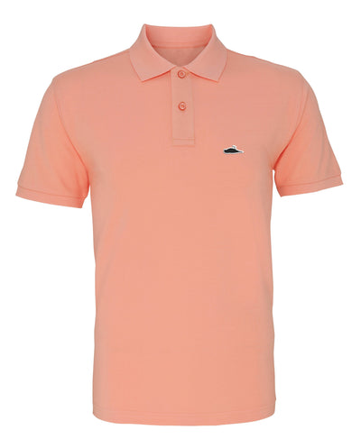 LTD Edition Solid Polo Shirt (Peach)