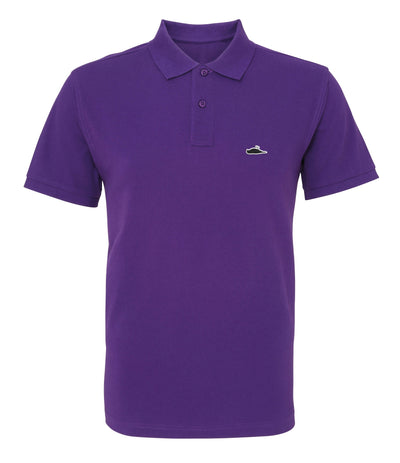 LTD Edition Solid Polo Shirt (Purple)