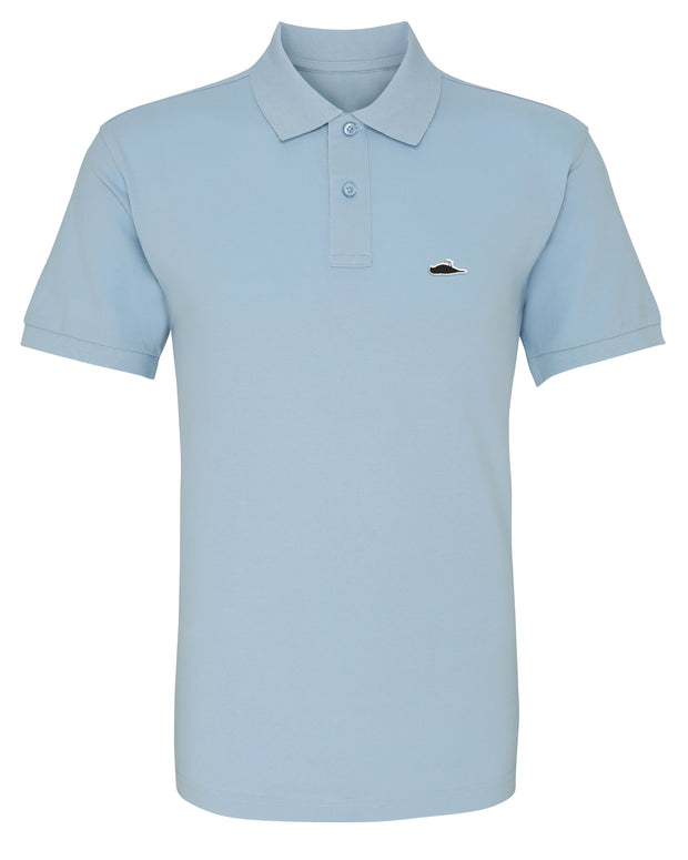ATTICUS LTD Edition Solid Polo Shirt (Sky Blue)