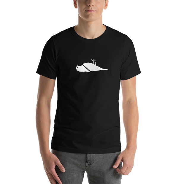ATCS Cut Bird T Shirt (White Print)