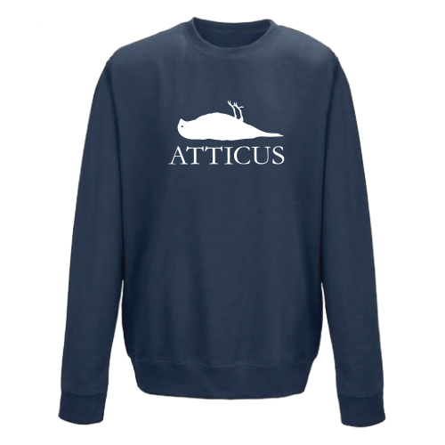 ATTICUS Dead Bird Crew Fleece (Blue)