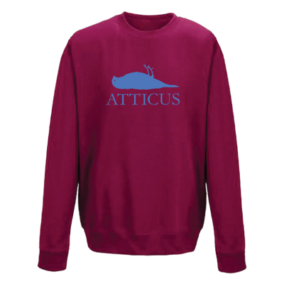 ATTICUS Dead Bird Crew Fleece (Cranberry)