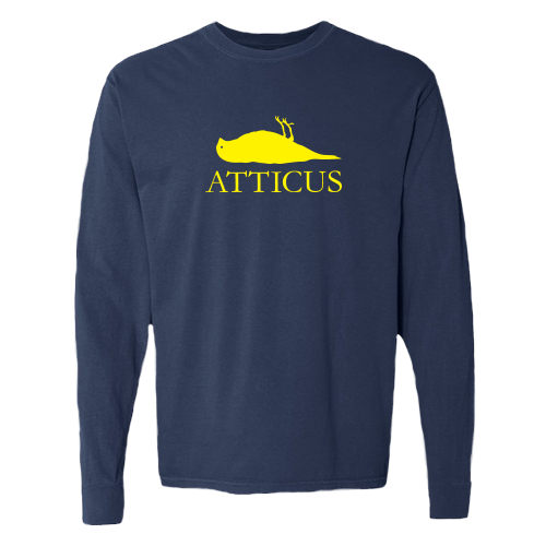 ATTICUS Dead Bird Long Sleeve T-Shirt (Navy Blue)