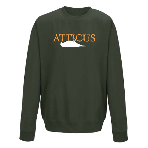 ATTICUS Dead Bird 10 Year Crew Fleece (Olive)