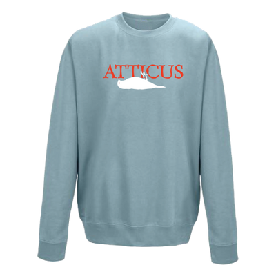 ATTICUS Dead Bird 10 Year Crew Fleece (Sky Blue)