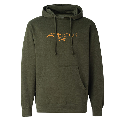 ATTICUS Double Cross Hoodie (Army Heather)