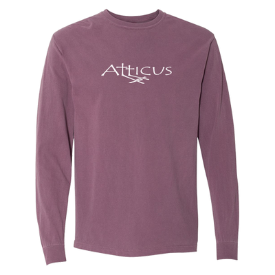 ATTICUS Double Cross Long Sleeve T-Shirt (Berry)
