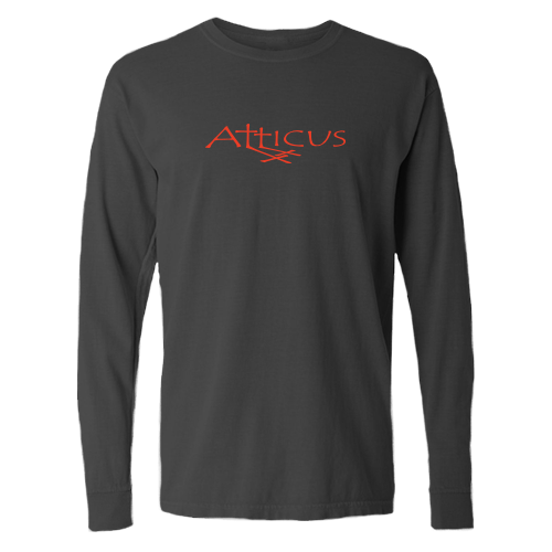 ATTICUS Double Cross Long Sleeve T-Shirt (Black)