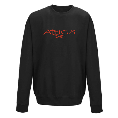 ATTICUS Double Cross Crew Fleece (Black)