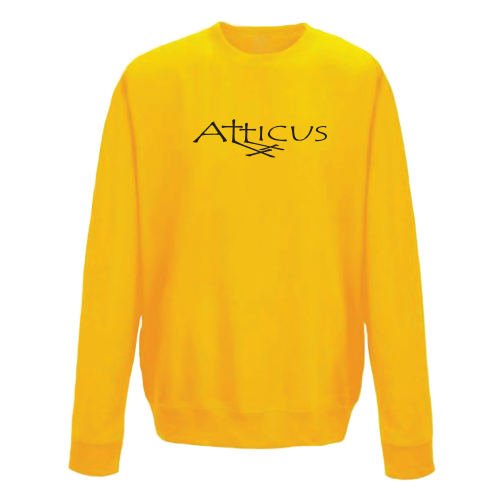 ATTICUS Double Cross Crew Fleece (Gold)