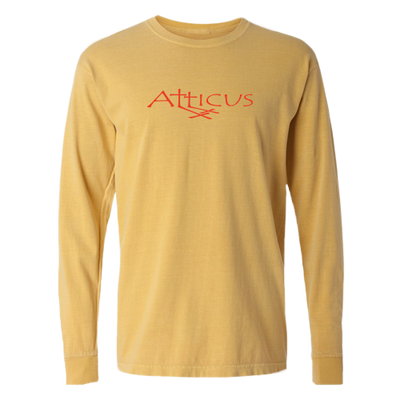 ATTICUS Double Cross Long Sleeve T-Shirt (Mustard)