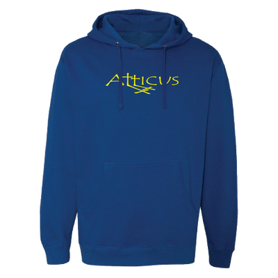 ATTICUS Double Cross Crew Hoodie (Royal Blue)