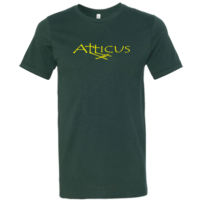 ATTICUS Double Cross T-Shirt (Forest Green)