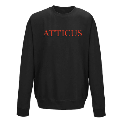 ATTICUS Garamond Crew Fleece (Black)