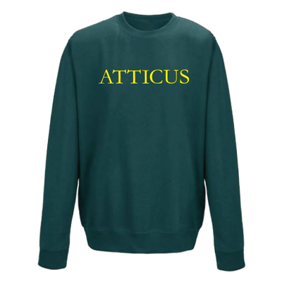 ATTICUS Garamond Crew Fleece (Jade)