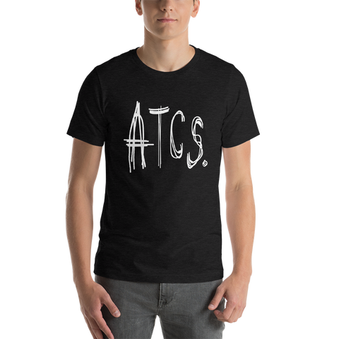 ATCS. Sketch T Shirt (White Print)