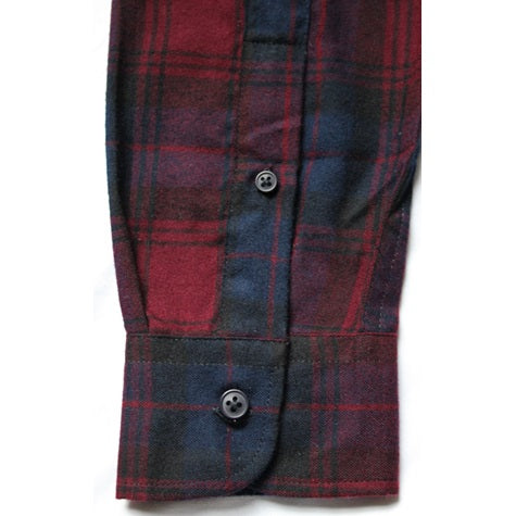 Woven LS Button Down Shirt (red)