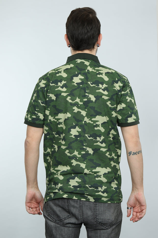 Camo Polo Shirt LTD Edition (Green)