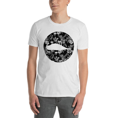 Floral Bird Short-Sleeve Unisex T-Shirt