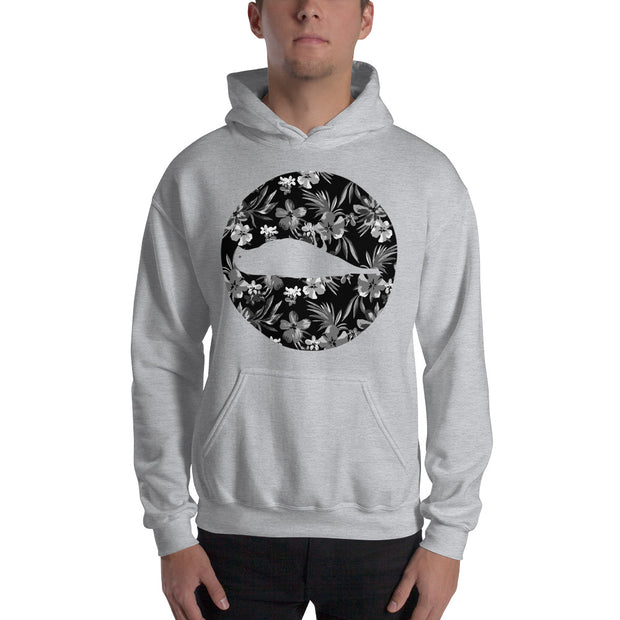 Floral Hooded Sweatshirt