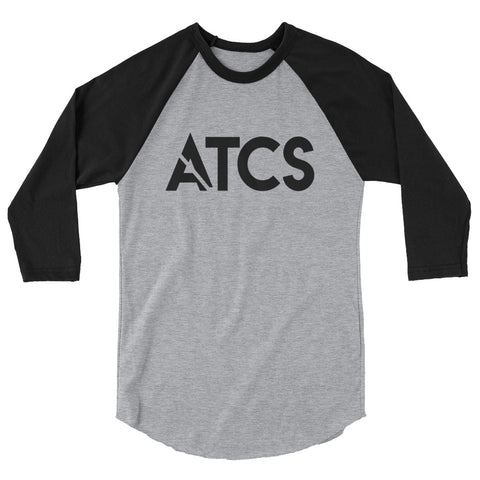ATCS Slash 3/4 sleeve raglan shirt