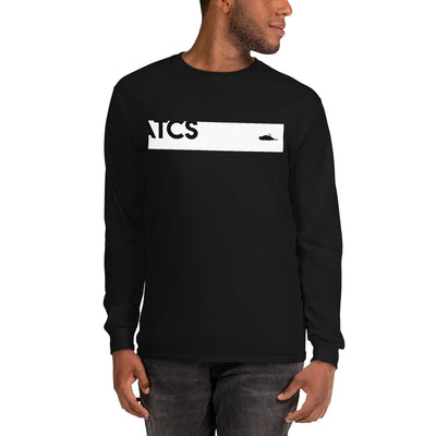 ATCS Banner Long Sleeved T Shirt (White Print)