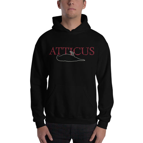 ATTICUS 2001 Deadbird Original Print Hooded Sweatshirt