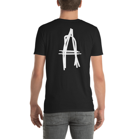 ATCS A Tagged T Shirt (White Print)