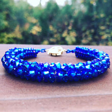 Load image into Gallery viewer, Sapphire Sparkle Bracelet