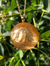 Load image into Gallery viewer, Seashell Half Sphere Necklace