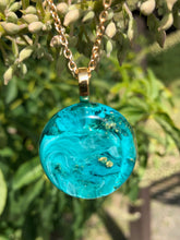 Load image into Gallery viewer, Nebula Necklace- Turquoise Round