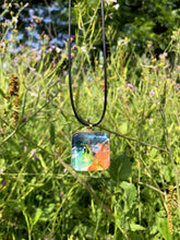 Load image into Gallery viewer, Almost Triadic Pendant Necklace-Emma Ambrose Art Collab