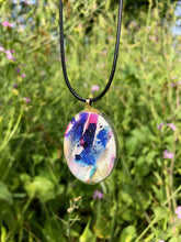 Load image into Gallery viewer, Wild Radishes Pendant Necklace-Emma Ambrose Art Collab