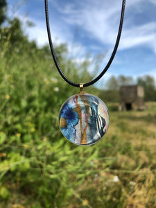 Magic Pendant Necklace-Emma Ambrose Art Collab