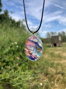 Candyland Pendant Necklace-Emma Ambrose Art Collab