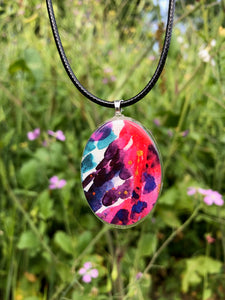 Bright Future Pendant Necklace-Emma Ambrose Art Collab